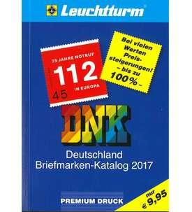 LEUCHTTURM DNK 2017 Deutschland Briefmarken Katalog NEU! Briefmarke