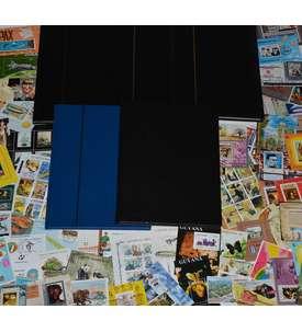 500 Blocks in 5 Alben Briefmarke