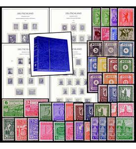 SBZ Postfrische Sätze mit Leuchtturm-Vordruckalbum Briefmarke