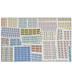 DDR Bogenmappe I gestempelt Briefmarke