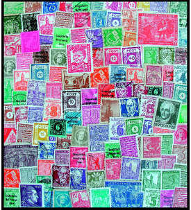 50 SBZ Briefmarke