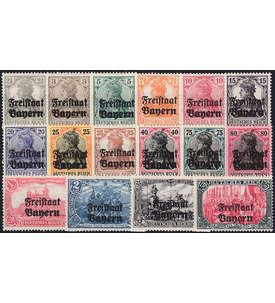 Bayern Nr. 136-151 postfrisch