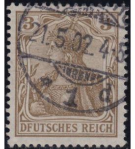 Deutsches Reich Nr. 69I gestempelt