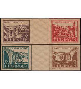 SBZ Zusammendrucke WZd1+WZd2 postfrisch ** Briefmarke