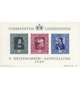 Liechtenstein Block 5 postfrisch