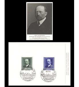 Deutsches Reich Fotokarte mit Nr. 760-761