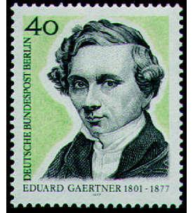 Berlin Nr. 542 postfrisch **Doppeldruck mit Vergleichsstück Briefmarke