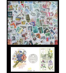 Berlin Sonder- und Zuschlagswerte gestempelt mit Ersttagsbrief Nr. 556-559 Briefmarke
