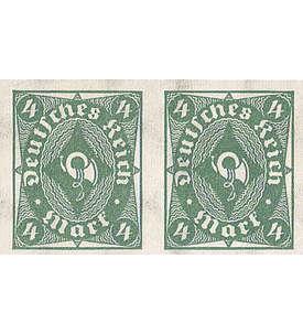 Deutsches Reich Nr. 226aU postfrisch ** ungezähntes Paar Briefmarke