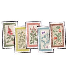 DDR Sondermarken postfrisch mit Nr. 757-761 Briefmarke