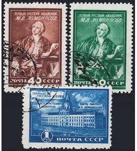 Sowjetunion Altwerte bis 1959 mit Nr. 1311-1313 gestempelt Briefmarke