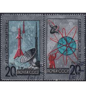 Sowjetunion mit Nr. 3042-3043 gestempelt Briefmarke