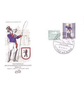Berlin Nr. 120 Ersttagsbrief mit Zusatzfrankatur Briefmarke