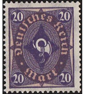 Deutsches Reich Nr. 207W postfrisch ** geprüft und signiert Briefmarke