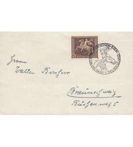 Deutsches Reich Nr. 671 auf Brief