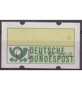 BRD Bund ATM Nr. 1 postfrisch **