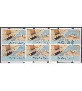 BRD Bund ATM8 TS1 postfrisch ** 045/070/085/145/260/450 Cent