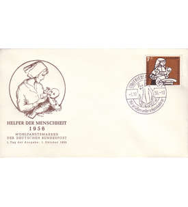 BRD Bund Nr. 243 auf Ersttagsbrief mit Sonderstempel Briefmarke