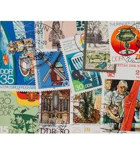 10 DDR Sperrwerte Briefmarke