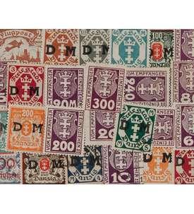 25 Danzig Briefmarke