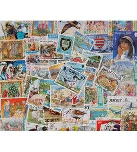 100 Jersey Briefmarke