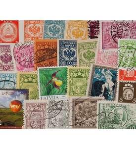 100 Lettland Briefmarke