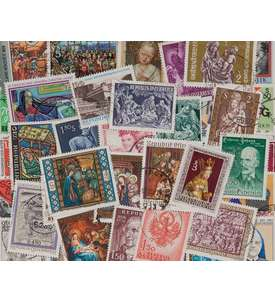 50 Österreich Sondermarken Briefmarke