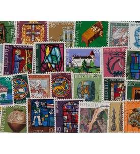 50 Schweiz Pro Patria Briefmarke