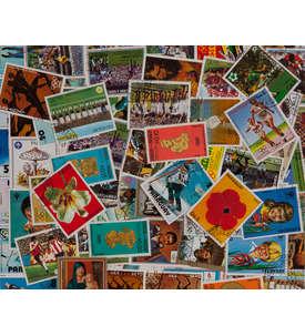 300 Paraguay Briefmarke