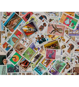 100 Ruanda ab 1962 Briefmarke
