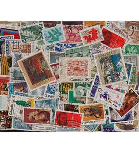 100 Kanada Großformat Briefmarke