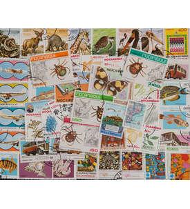 50 Mozambique Briefmarke