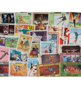 200 Tanzen Briefmarke