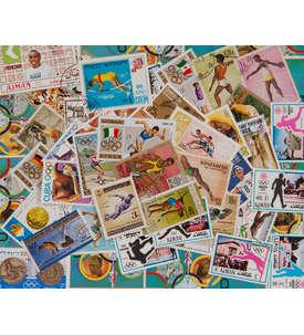 300 Leichtathletik Briefmarke