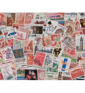 300 Dänemark Sondermarken Briefmarke