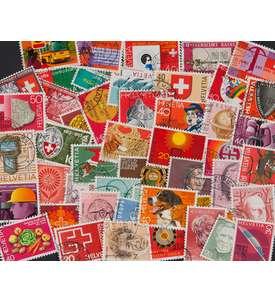 50 Schweiz Sondermarken Briefmarke