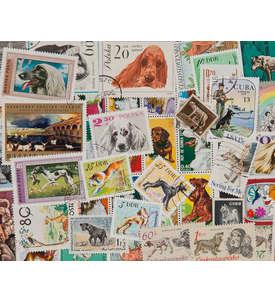 100 Hunde Briefmarke