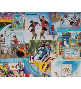 10 Olympische Winterspiele-Blocks