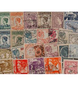 100 Niederländisch Indien Briefmarke