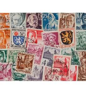 50 Französische Zone Briefmarke