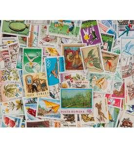 500 Rumänien Briefmarke