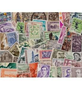 50 Spanien Großformate Briefmarke