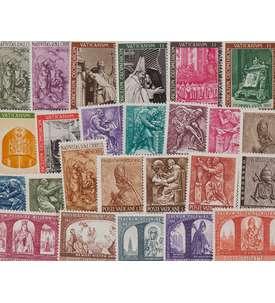 50 Vatikan Briefmarke