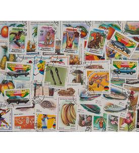 100 Madagaskar Briefmarke