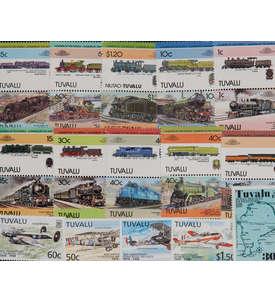 25 Tuvalu Briefmarke
