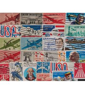25 USA Flugpost Briefmarke