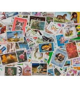 200 Amerika Briefmarke