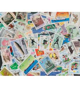 200 Asien Briefmarke