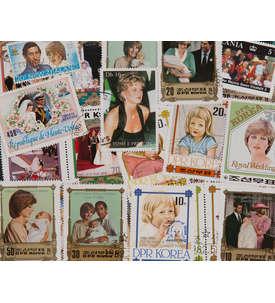 100 Lady Diana Briefmarke