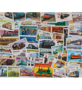 100 Lokomotiven Briefmarke